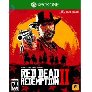 Red Dead Redemption 2 игра Xbox
